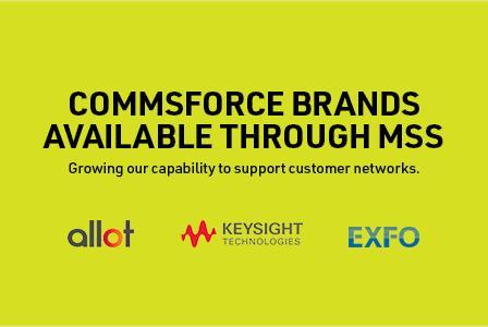 Commsforce brands available through MSS Data Solutions