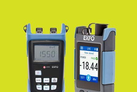 EXFO Light Source and Power Meters
