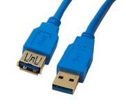 Cable EXT USB 3.0 AM-AF Gold Blue 2M