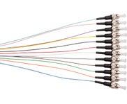 Fibre Pigtail ST OM1 Multimode 2M - 12 Pack